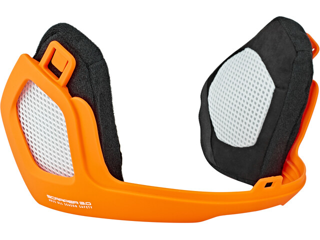 ABUS Scraper 3.0 Winter Kit, signal orange
